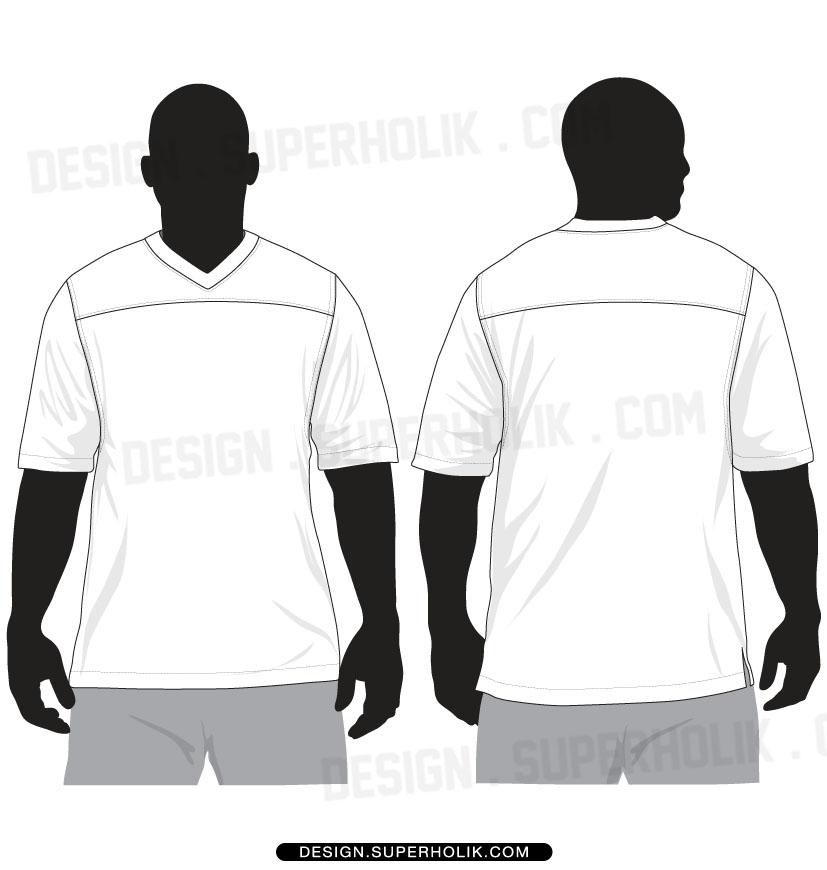Free Blank Football Uniform On Paper, Download Free Clip Art, Free