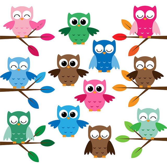 Free Cartoon Owls Cute, Download Free Clip Art, Free Clip Art on
