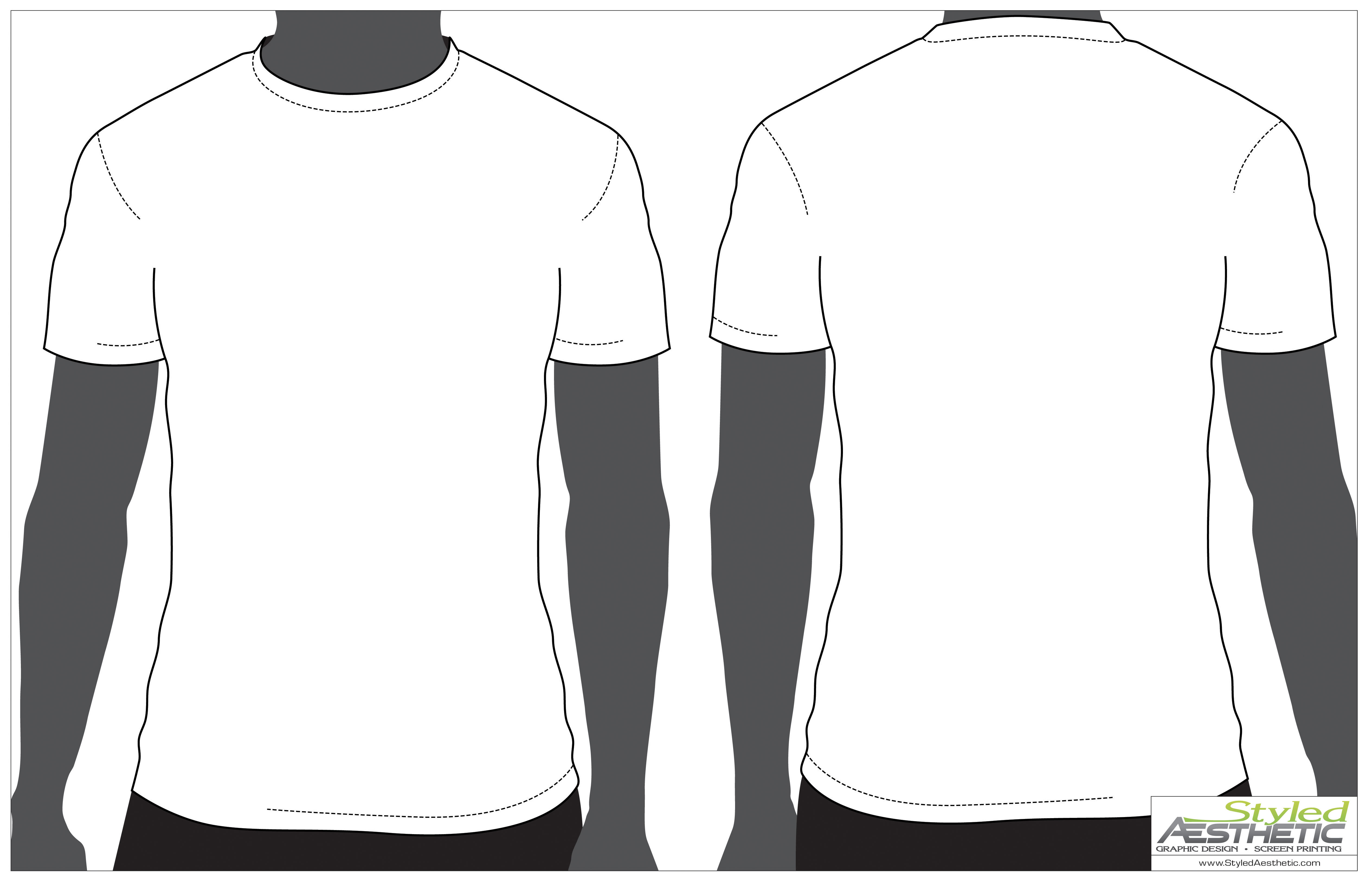 Black t shirt plain front and back - Black T Shirt Back And Front Plain Large T Download
