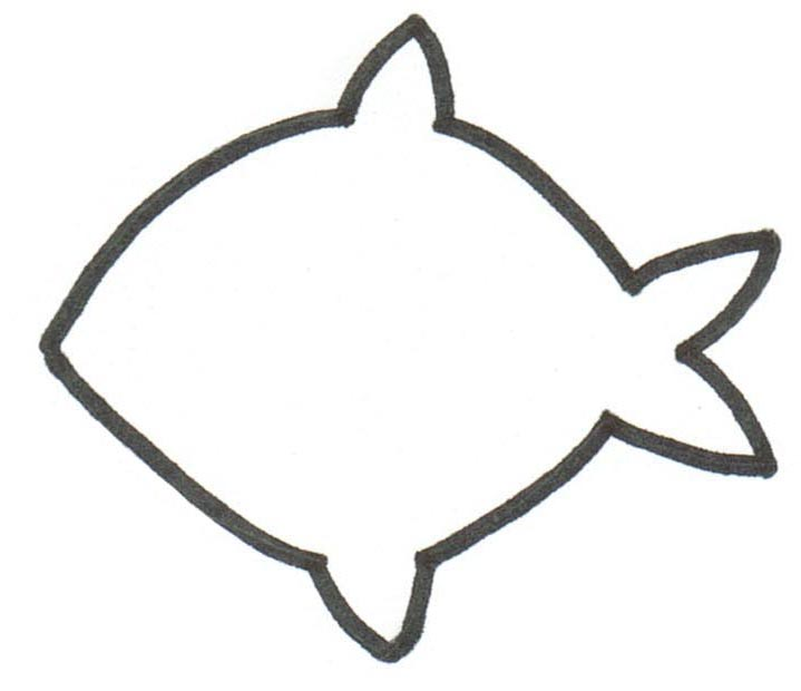 Free Fish Template, Download Free Clip Art, Free Clip Art on Clipart