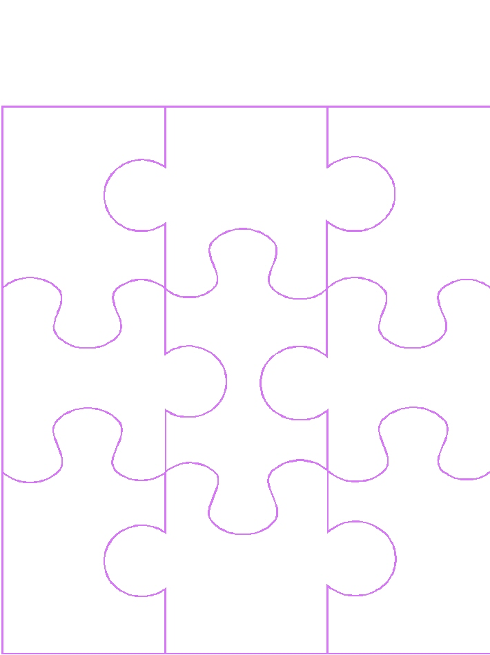 Blank 9 Piece Puzzle Template - Clipart library - Clip Art Library - blank puzzle template