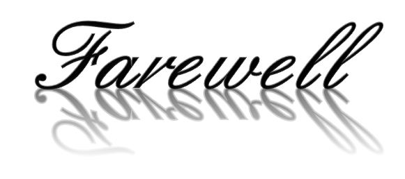 Farewell Card Template Templates Collection - Clip Art Library