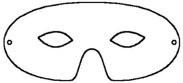 Printable Masquerade Mask Pattern Template - Woo! Jr Kids - masquerade mask template
