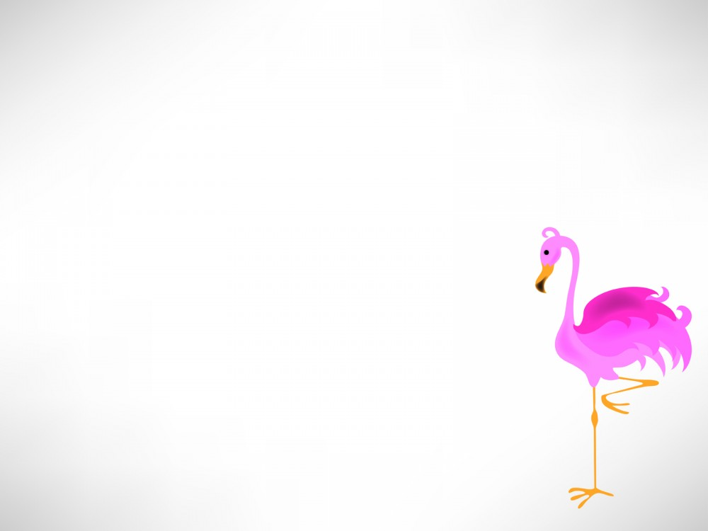 Cute Pink Snowman Wallpaper Animal Pelican Ppt Backgrounds Animals Grey Pink White