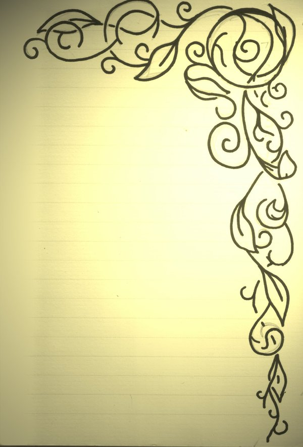 Printable Bordered Paper Designs Free | ophion.co