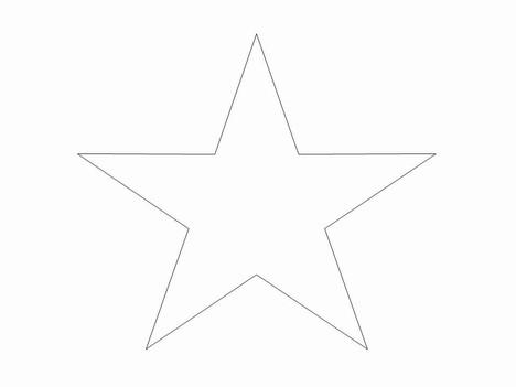 star-clip-art-templates- - Clip Art Library - stars template