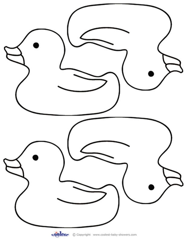 Free Duck Template, Download Free Clip Art, Free Clip Art on Clipart