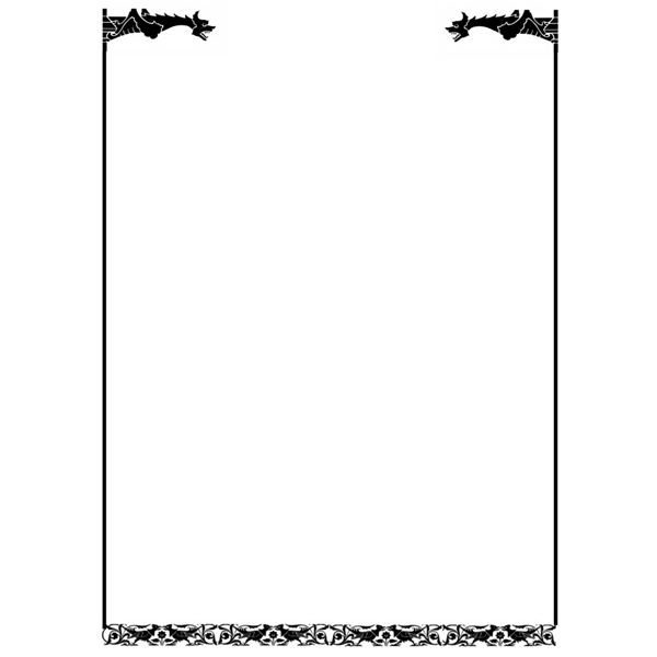 Free Medieval Border Designs, Download Free Clip Art, Free Clip Art - Border Template For Word