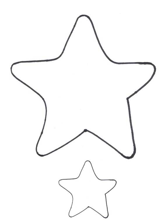 Big Star Template Printable - Clipart library - Clip Art Library