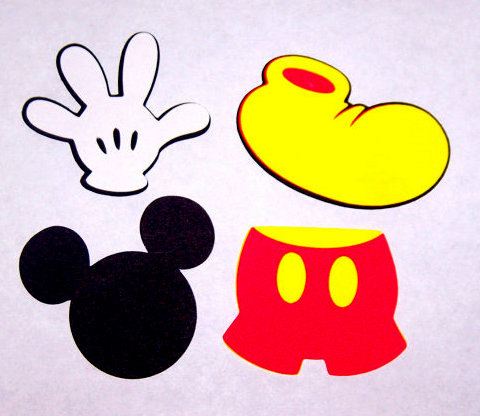 Free Free Printable Mickey Mouse Gloves, Download Free Clip Art