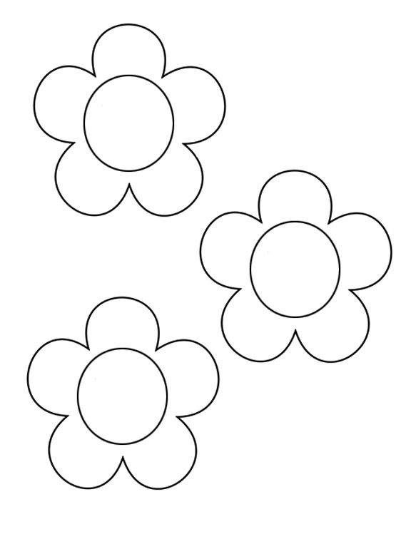 Free Flower Template, Download Free Clip Art, Free Clip Art on