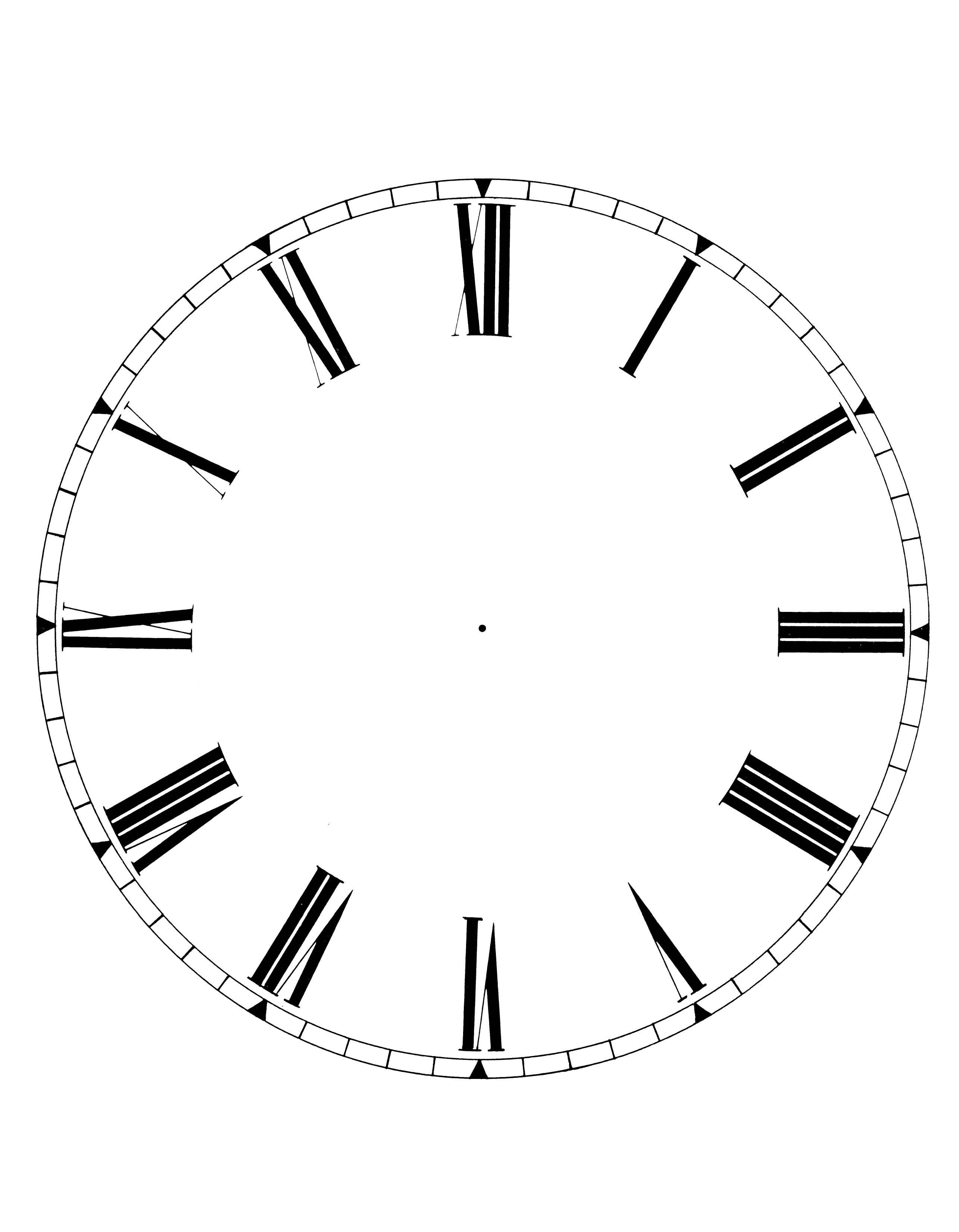 Oval Clock Face Free Blank Clock Face Printable Download Free Clip Art Free Clip