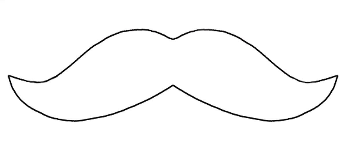 Free Mustache Printables, Download Free Clip Art, Free Clip Art on