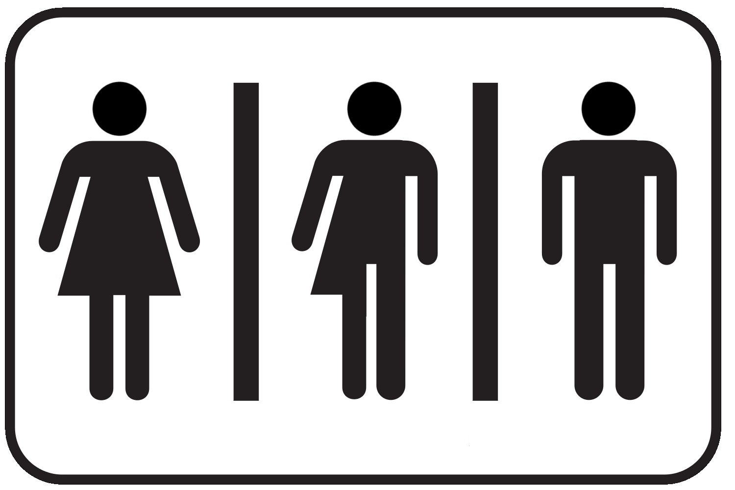 Male bathroom sign - Download