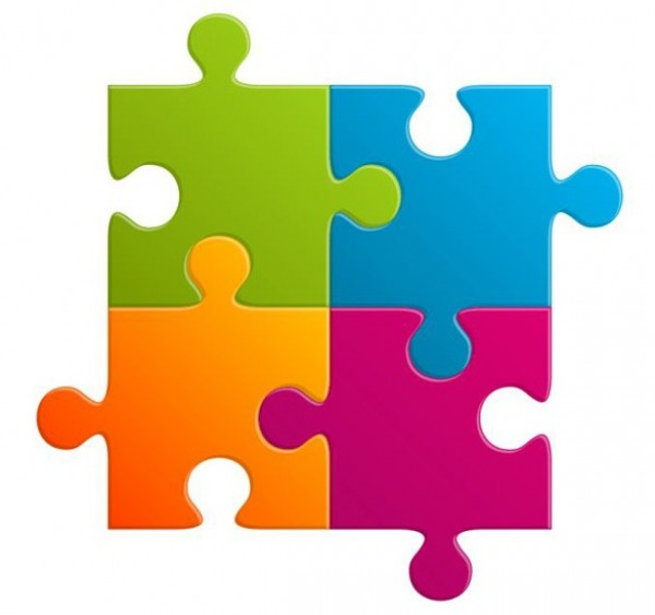 Puzzle Pieces Template Free - Clipart library - Clip Art Library - puzzle pieces template