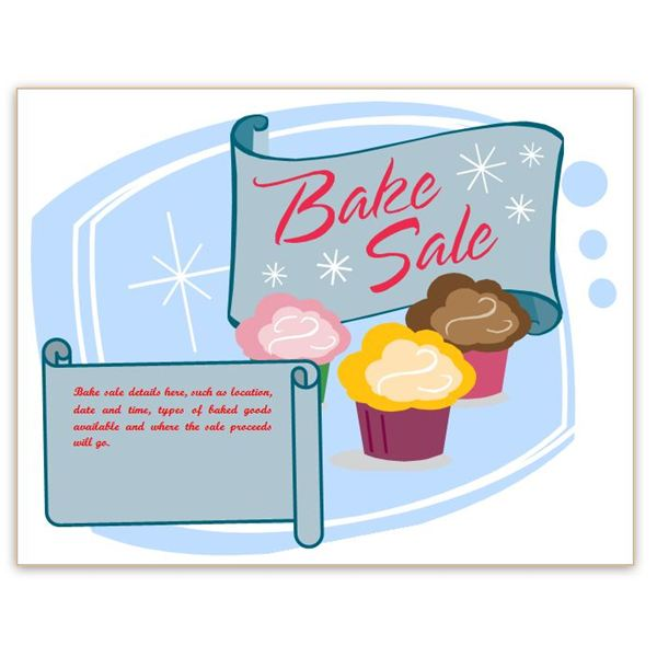 Free Free Printable Bake Sale Flyers, Download Free Clip Art, Free