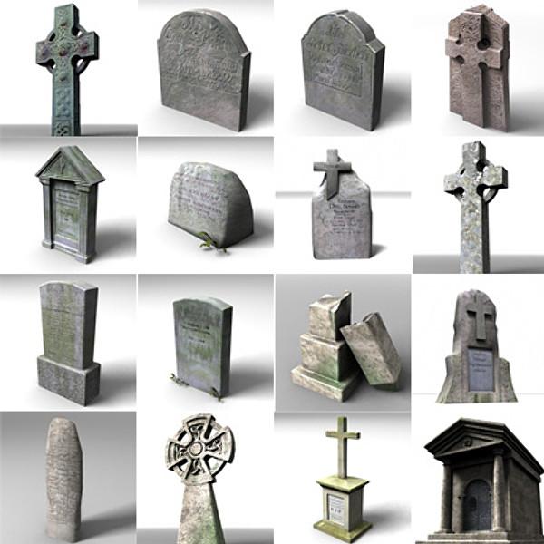 3d Celtic Cross Wallpaper Free Grave Gravestone 3d Model