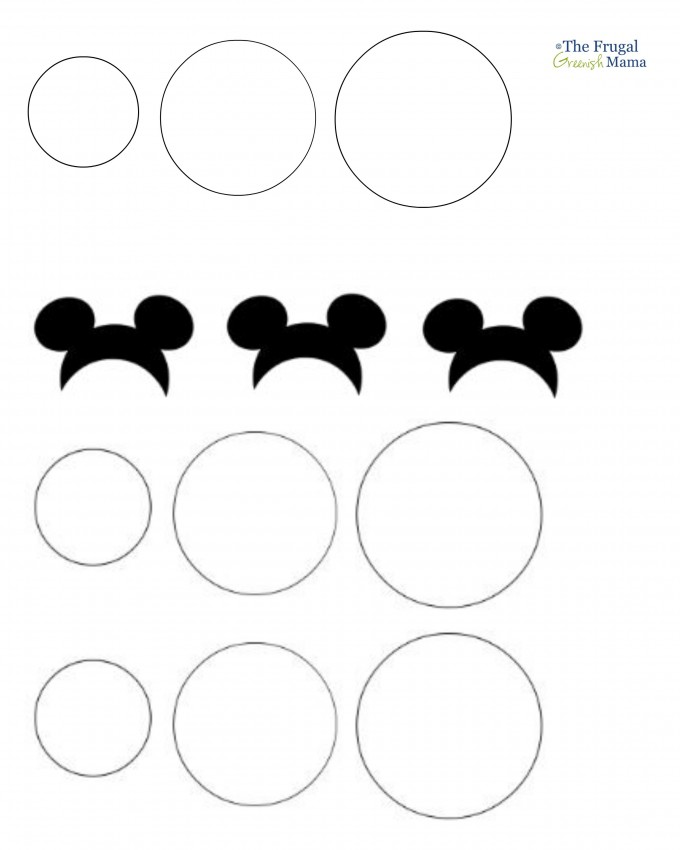 Free Printable Mickey Mouse Ears Template, Download Free Clip Art - free printable mickey mouse