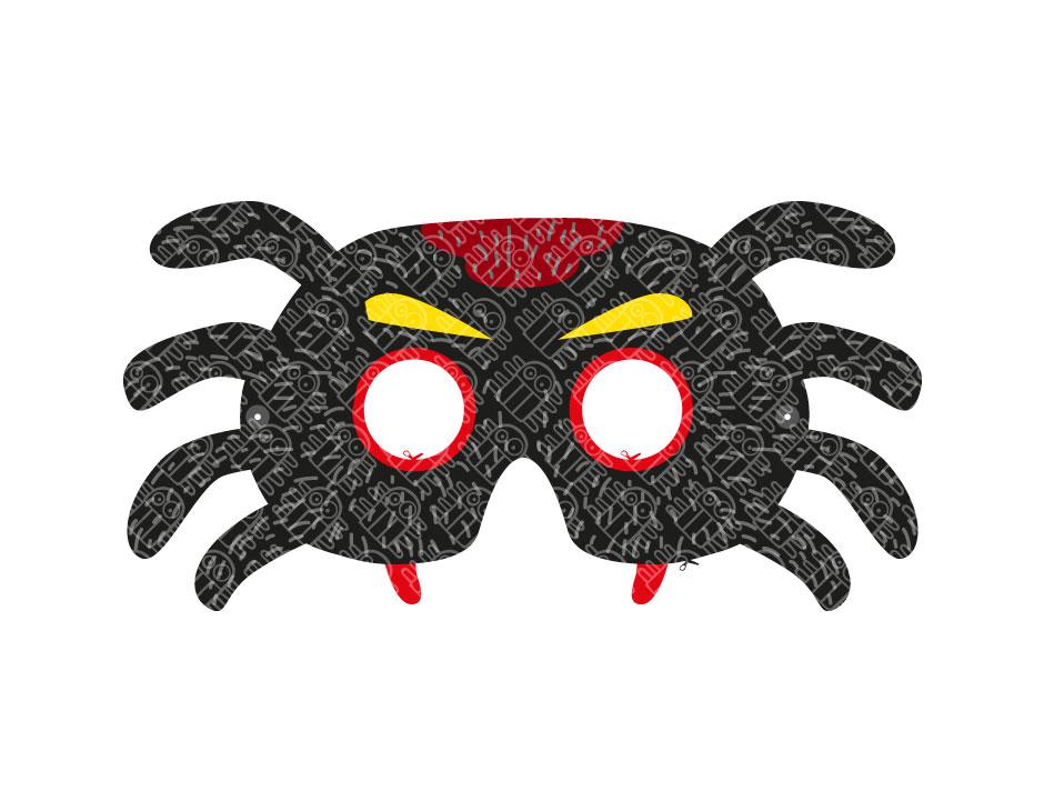 Spider Paper Mask Printable Pdf