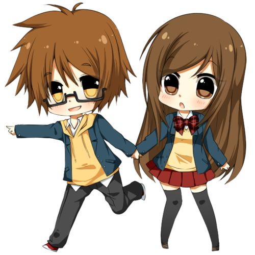 Boy And Girl Hug Wallpapers Cute Anime Couple Cute Anime Chibi Couples Pictures 1