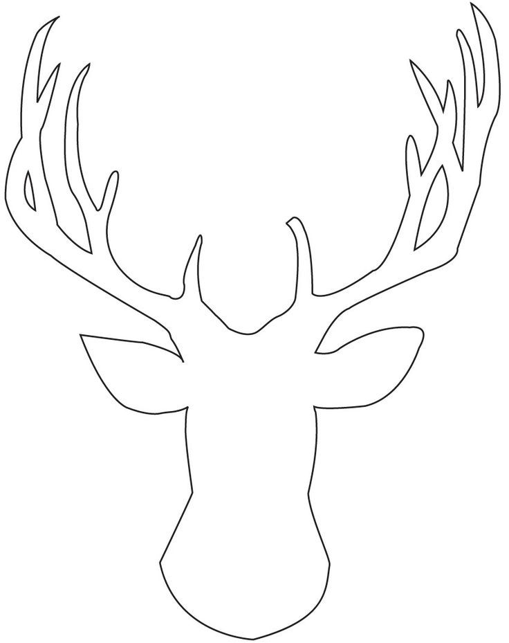 Free Reindeer Silhouette, Download Free Clip Art, Free Clip Art on