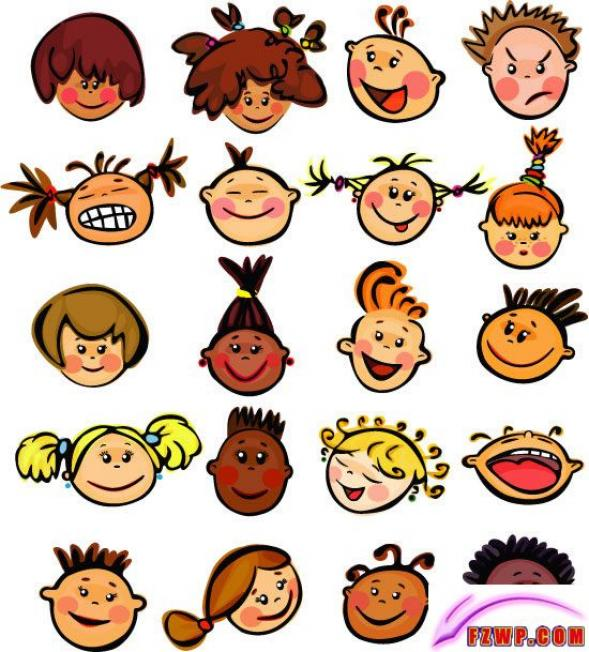 Free Happy Cartoon Faces, Download Free Clip Art, Free Clip Art on