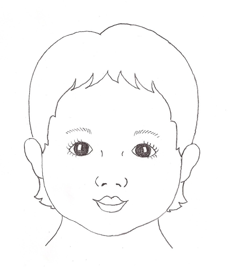 Free Face Outline Template, Download Free Clip Art, Free Clip Art on - blank outline template