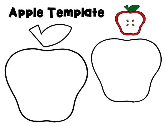 Free Apple Template, Download Free Clip Art, Free Clip Art on