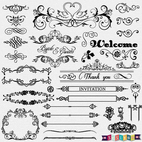 Free Wedding Card White Designs Clipart, Download Free Clip Art