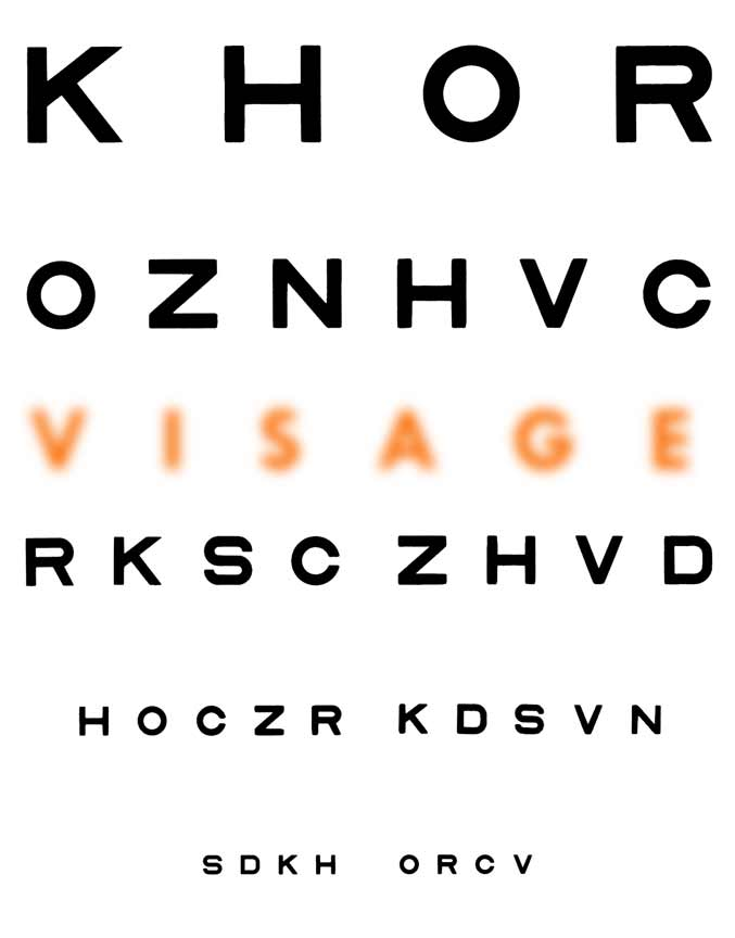 Colorful Eye Chart Template Inspiration - Administrative Officer - eye chart template