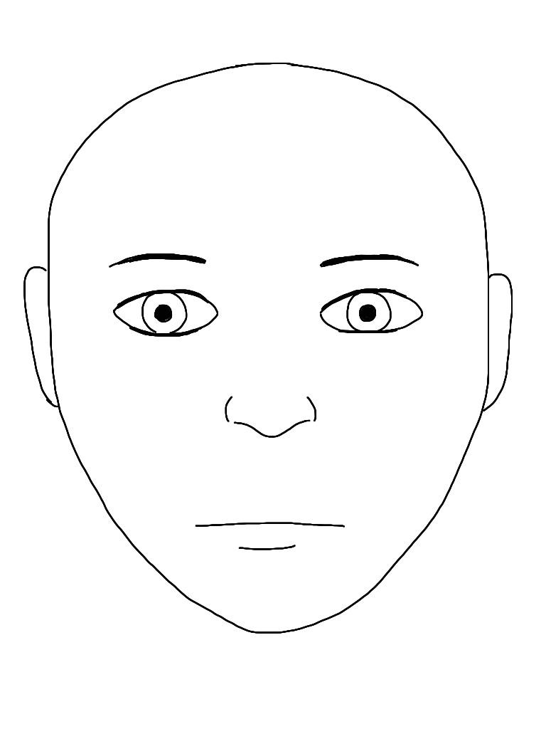 face health diagram