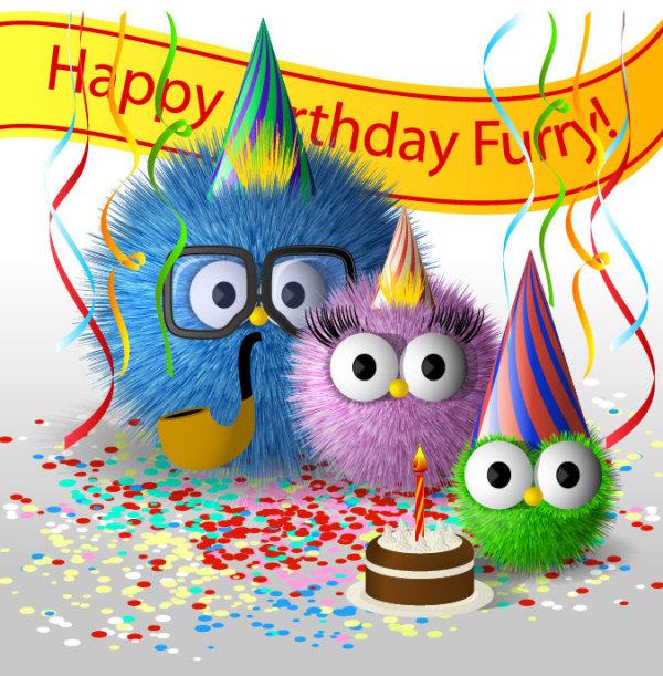 Free Happy Birthday Cartoon Images, Download Free Clip Art, Free - birthday greetings download free