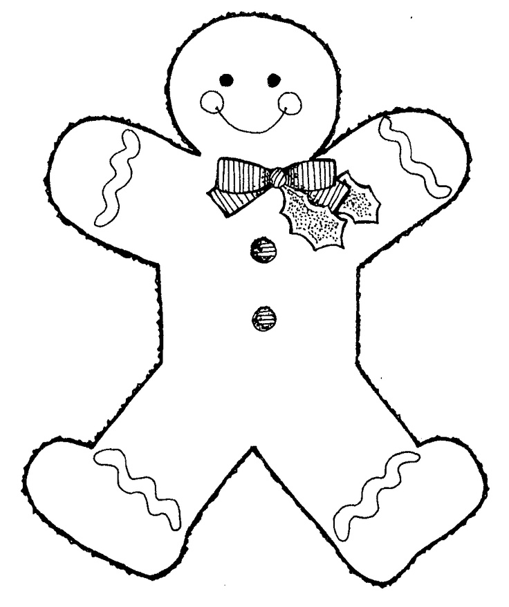 Images Of Gingerbread Men Free Download Clip Art Free Clip Art - gingerbread man template