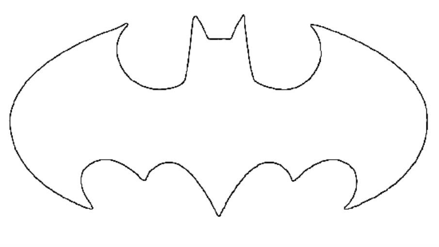 Free Batman Symbol Stencil, Download Free Clip Art, Free Clip Art on