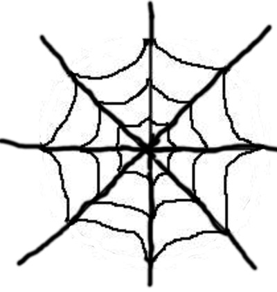 Free Spider Web Outline, Download Free Clip Art, Free Clip Art on