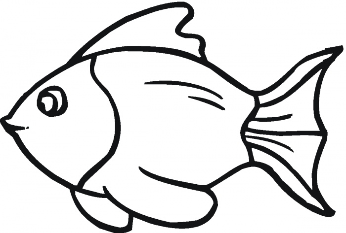 Free Fish Outline For Children, Download Free Clip Art, Free Clip