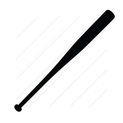 Vector Baseball bat, Vector Art, Baseball bat Stock Vector - Clip