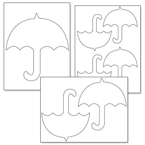 Free Printable Umbrella Template, Download Free Clip Art, Free Clip