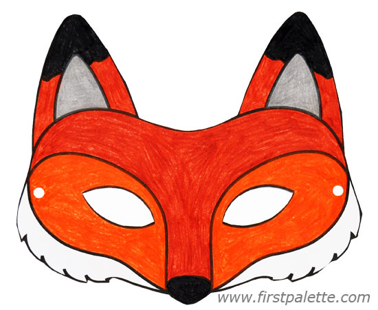 Printable Animal Masks Craft Kids\u0027 Crafts FirstPalette