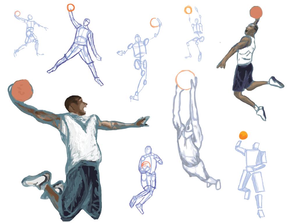 Derrick Rose Wallpaper Hd Free Basketballl Drawings Download Free Clip Art Free
