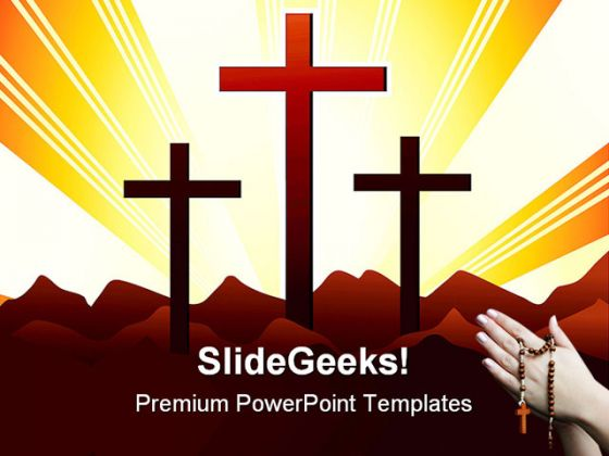 Holly Cross Religion PowerPoint Templates And PowerPoint - Clip Art