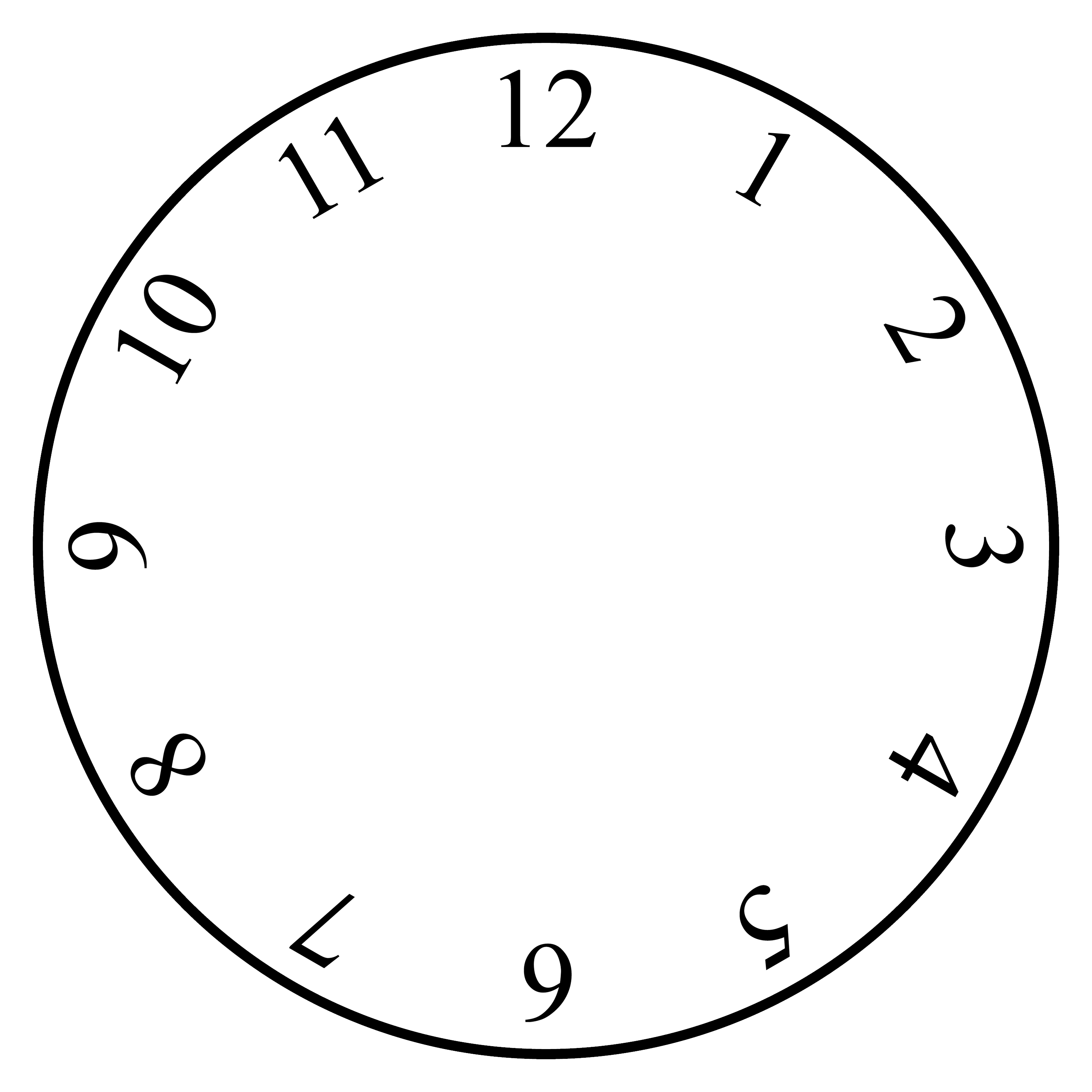 Oval Clock Face Free Clock Templates Download Free Clip Art Free Clip Art On