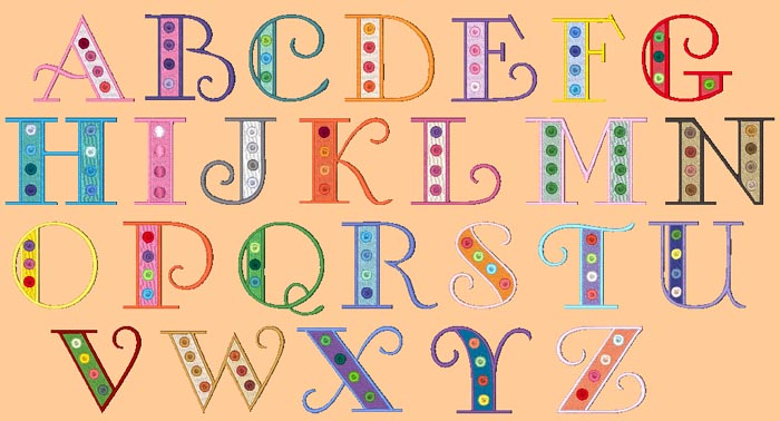 Free Cool Alphabet Letter Designs, Download Free Clip Art, Free Clip