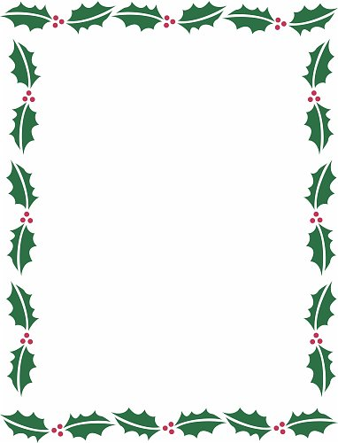 christmas word document template - Ozilalmanoof