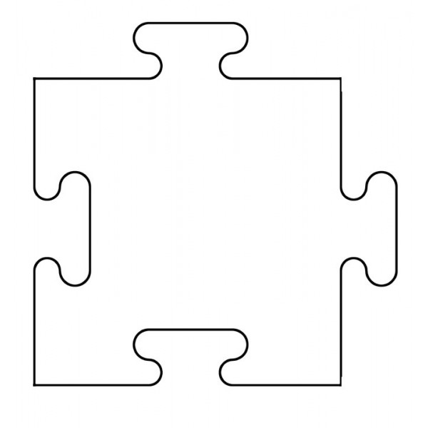 Blank Puzzle Pieces Template - Clipart library - Clip Art Library - blank puzzle template