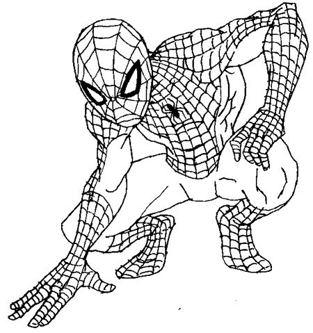 Free Spiderman Drawing Easy, Download Free Clip Art, Free Clip Art