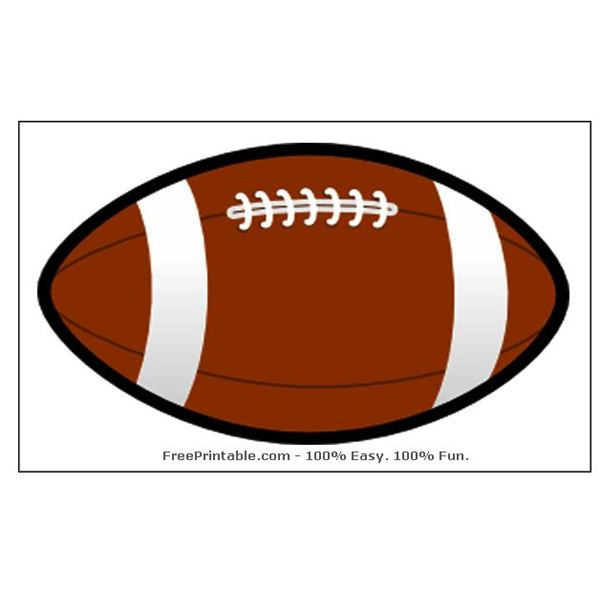 Free Football Template, Download Free Clip Art, Free Clip Art on