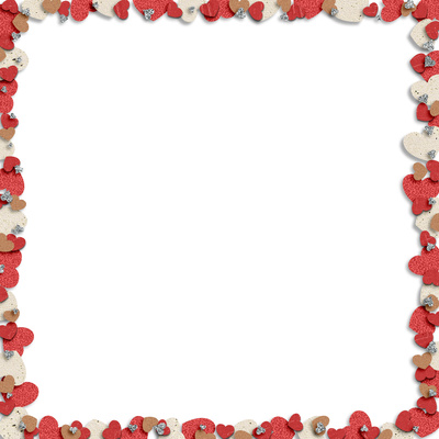 Free Heart Borders Printable Blank Page Frame Template Just Free