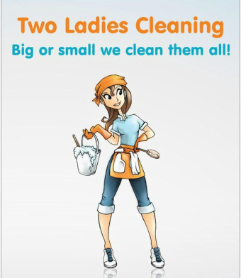 Two Ladies Cleaning - Home - Clip Art Library