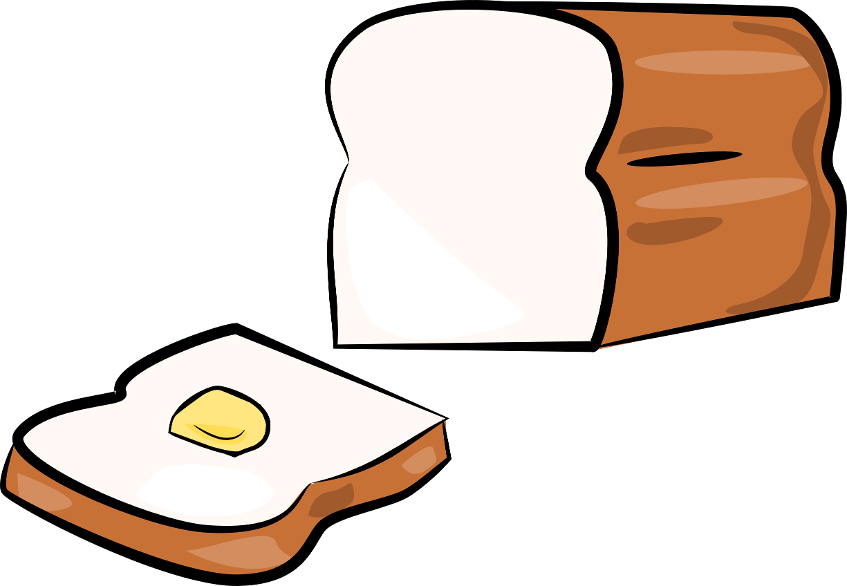 Loaf Clipart Black And White Free Loaf Of Bread Image Download Free Clip Art Free